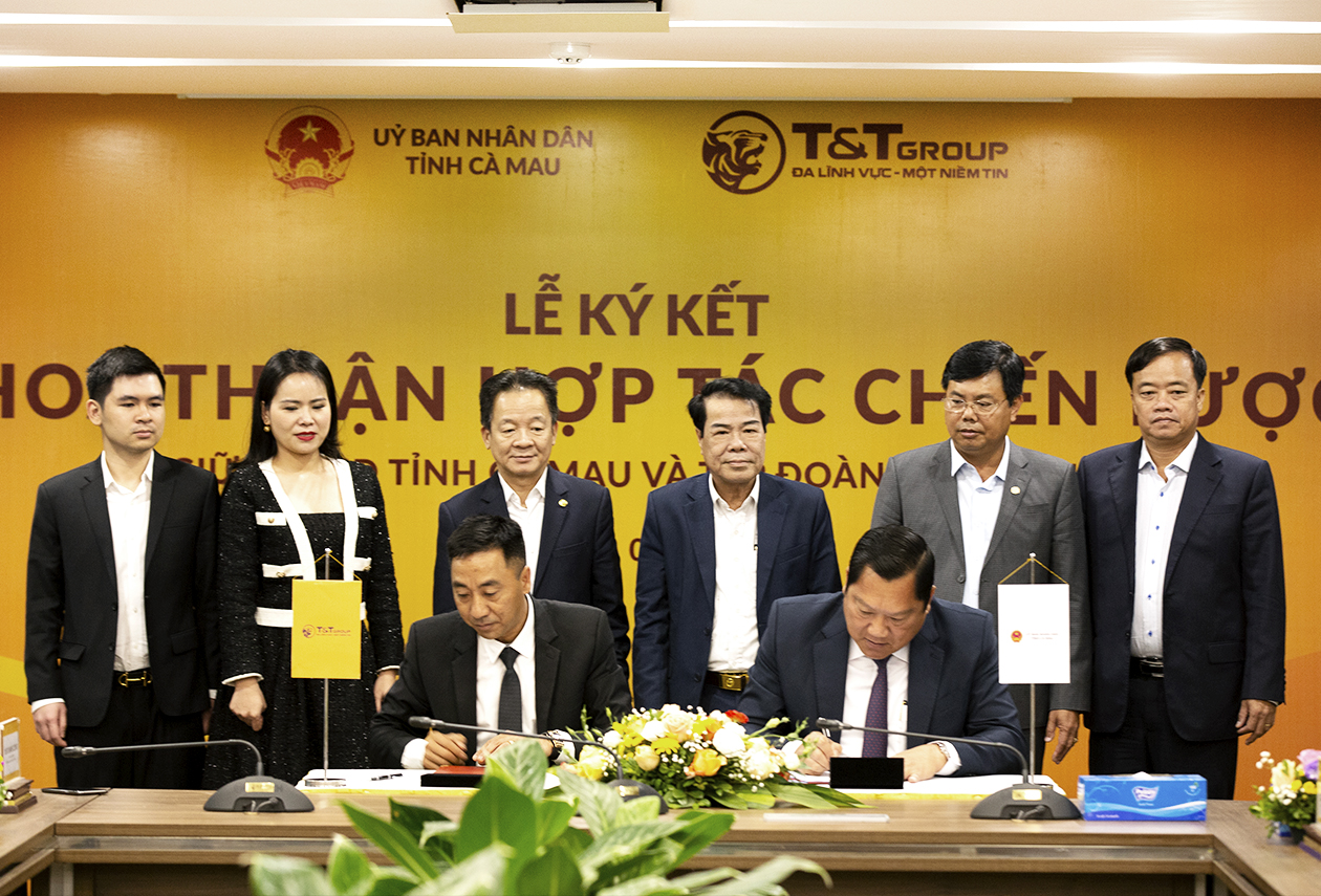T&T Group hợp tác chiến lược với 2 tỉnh Lào Cai và Cà Mau