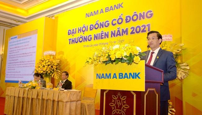 Đại hội cổ đông Nam A Bank chốt chia cổ tức gần 15%