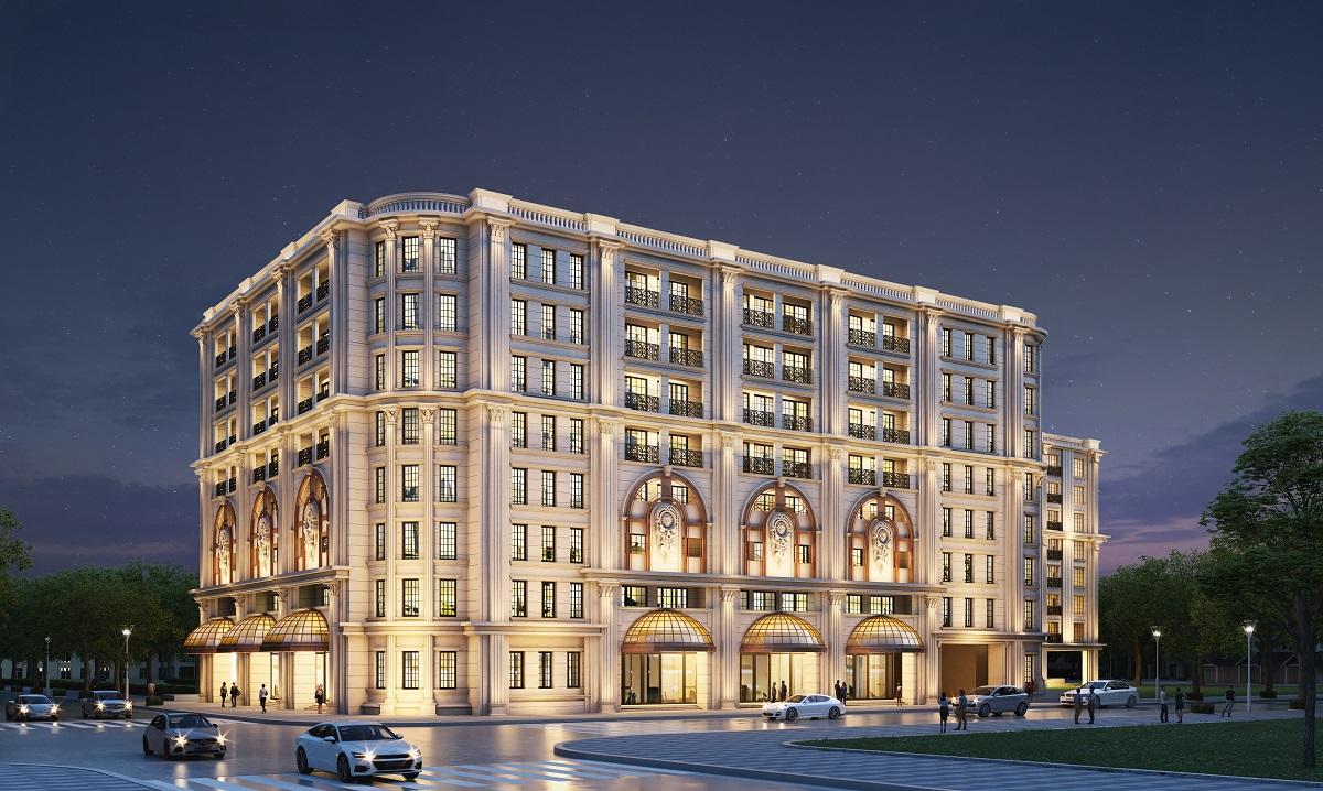 Hé lộ hình ảnh đầu tiên của dự án The Grand mang thương hiệu Ritz-Carlton tại Hàng Bài, Hà Nội.