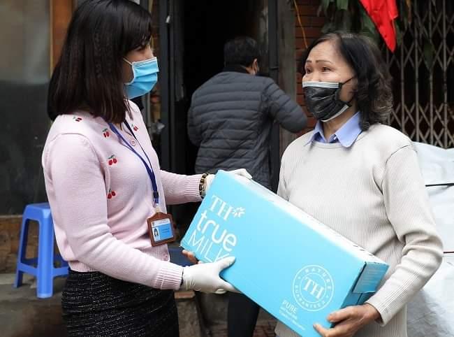 Chung tay chống dịch COVID-19, Tập đoàn TH tặng Hà Nam và Vĩnh Phúc hơn 145.000 sản phẩm đồ uống 3