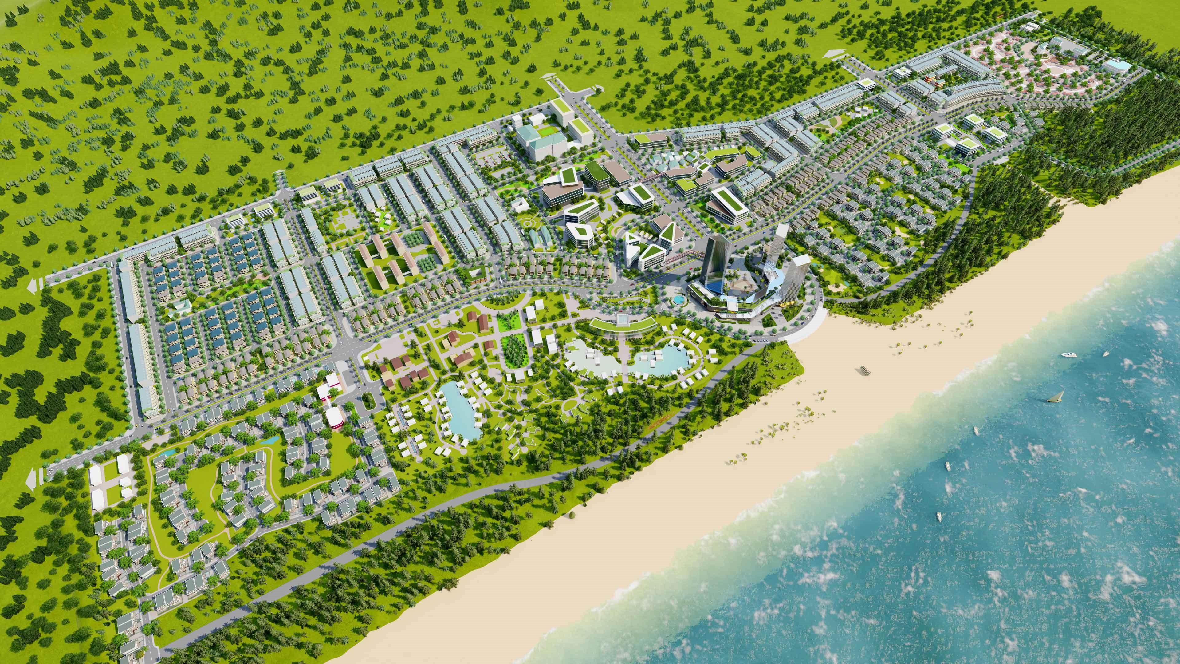 T&T Group khởi công dự án Khu du lịch sinh thái biển tại Thanh Hóa 1