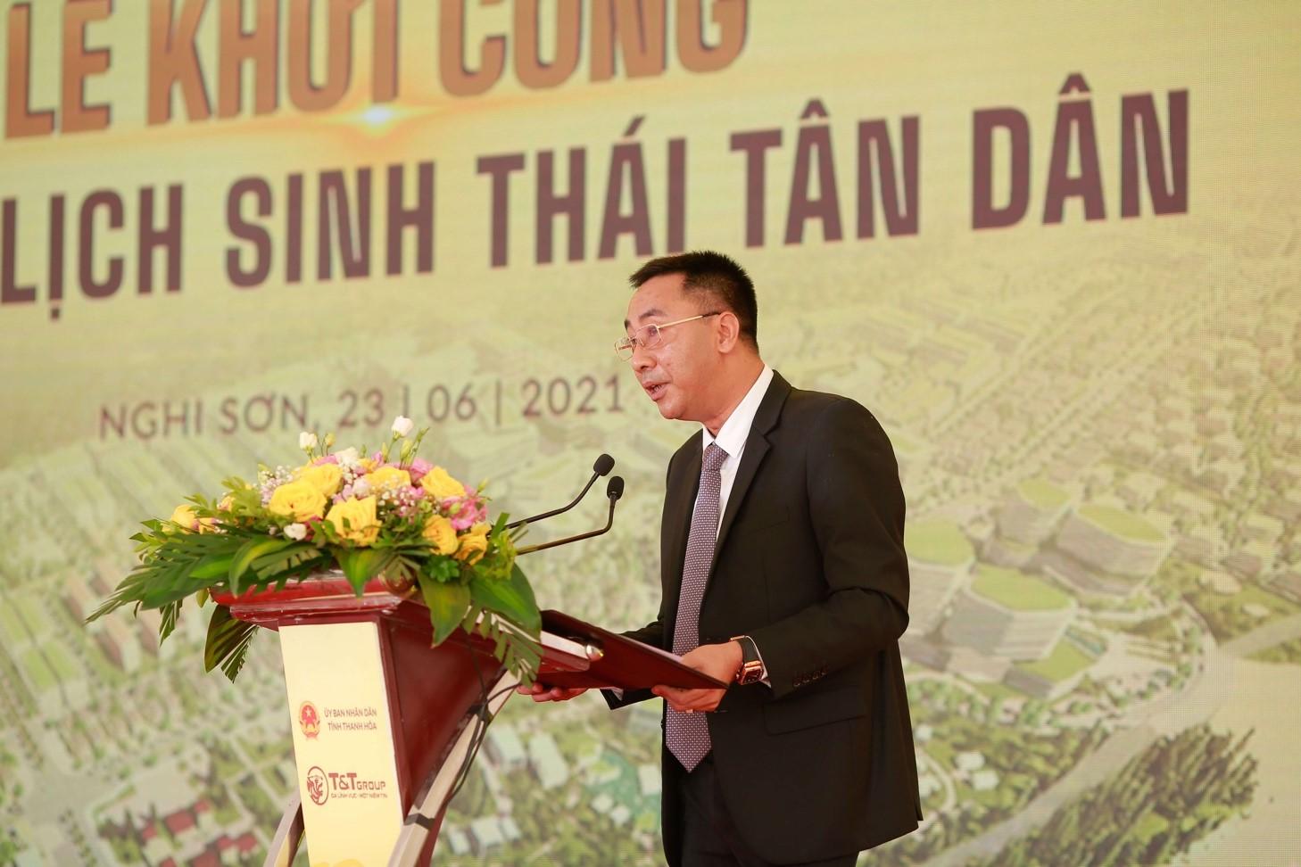T&T Group khởi công dự án Khu du lịch sinh thái biển tại Thanh Hóa 2