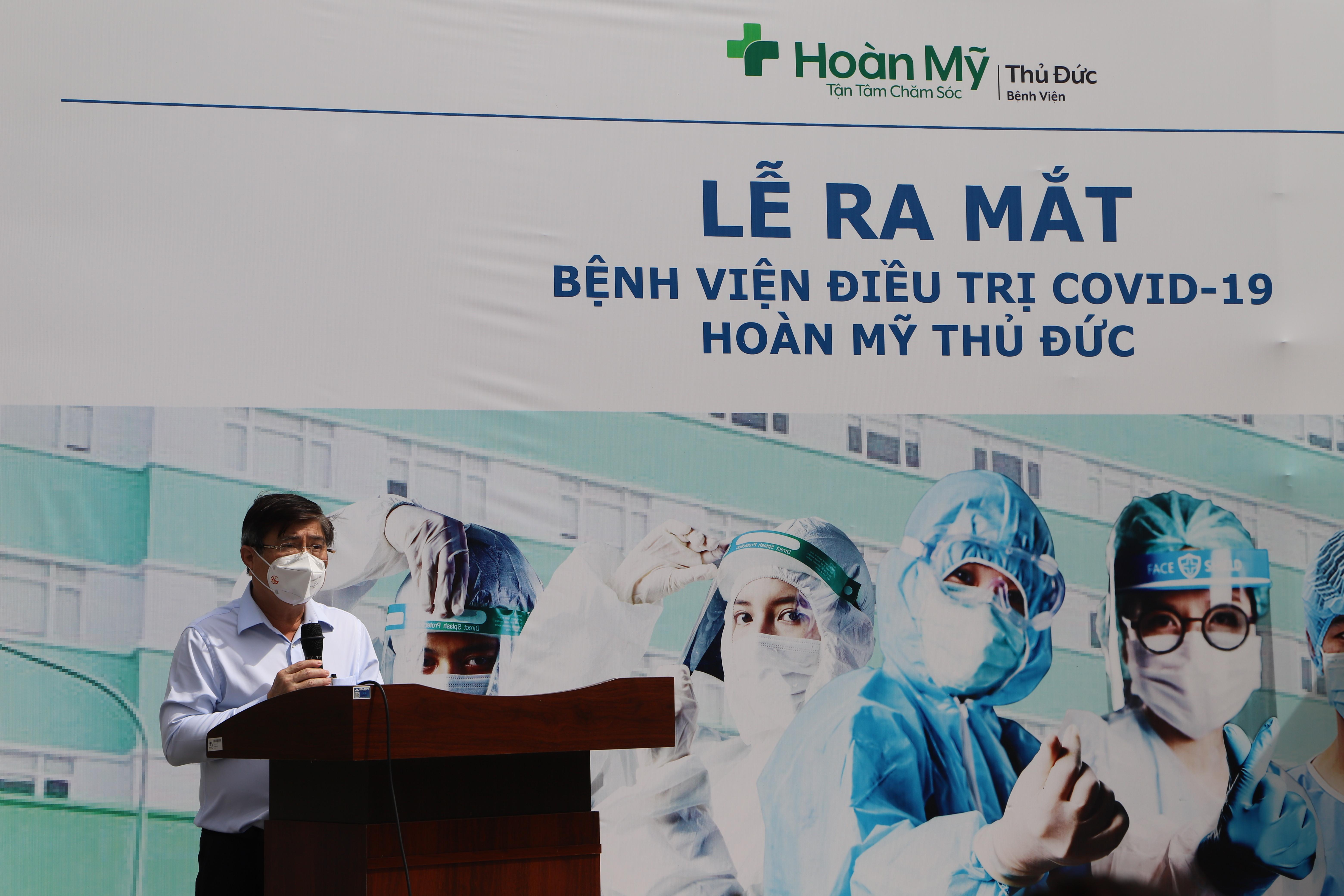 Bệnh viện Hoàn Mỹ Thủ Đức bắt đầu điều trị Covid-19