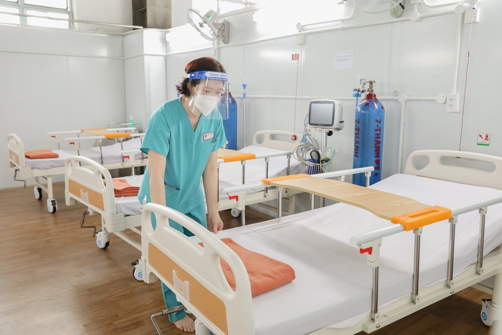 Thêm 2 trung tâm hồi sức tích cực người bệnh Covid-19 được lập tại TP.HCM