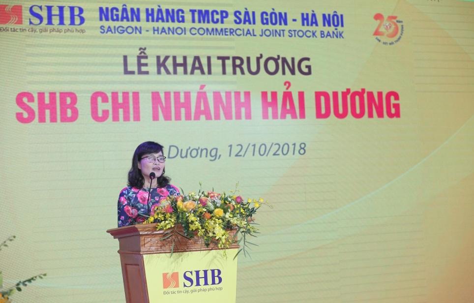 SHB khai trương chi nhánh Hải Dương 1
