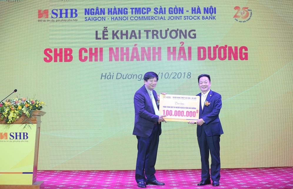 SHB khai trương chi nhánh Hải Dương 2