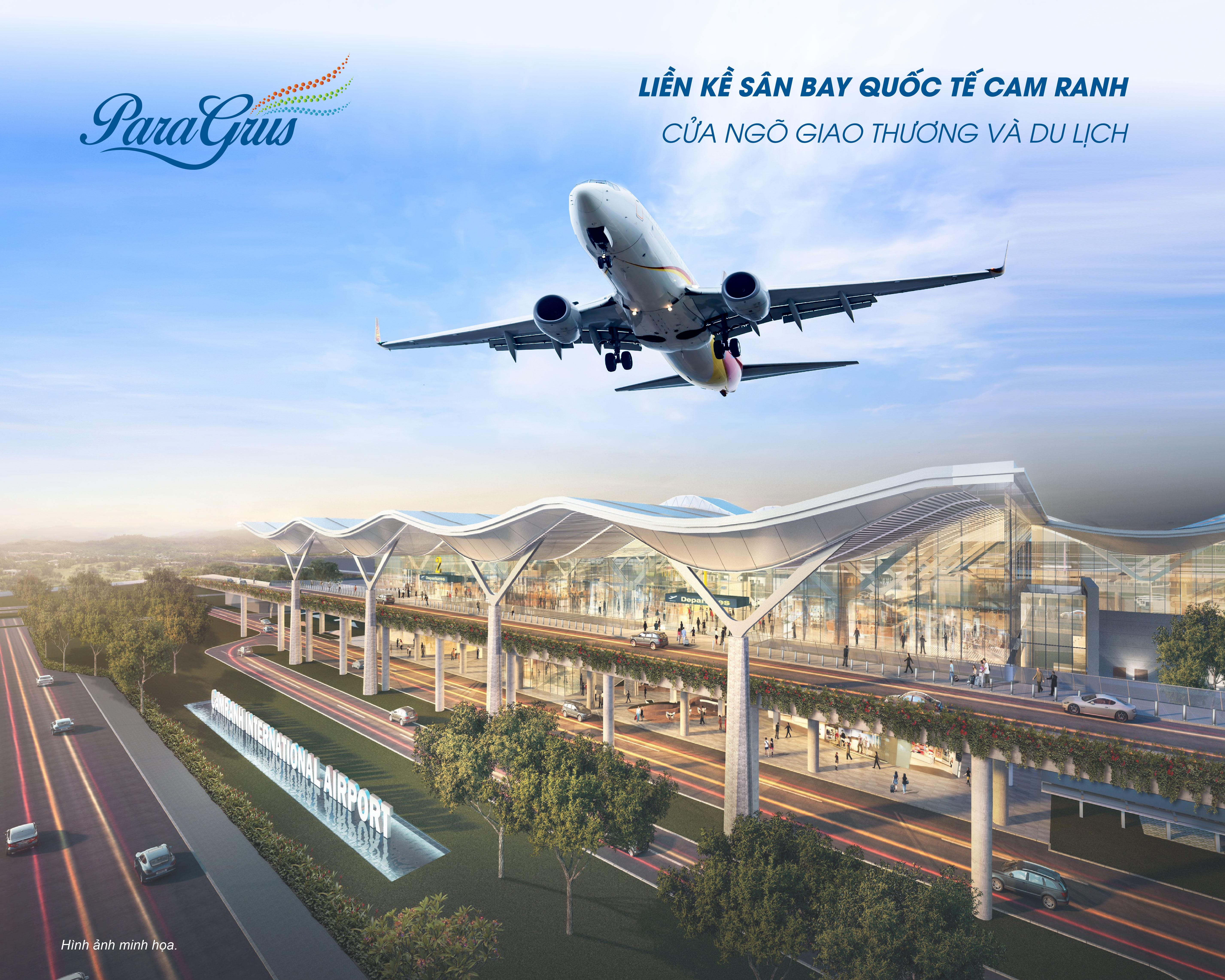 Sắp xuất hiện siêu phẩm nhà phố liền kề sân bay quốc tế Cam Ranh