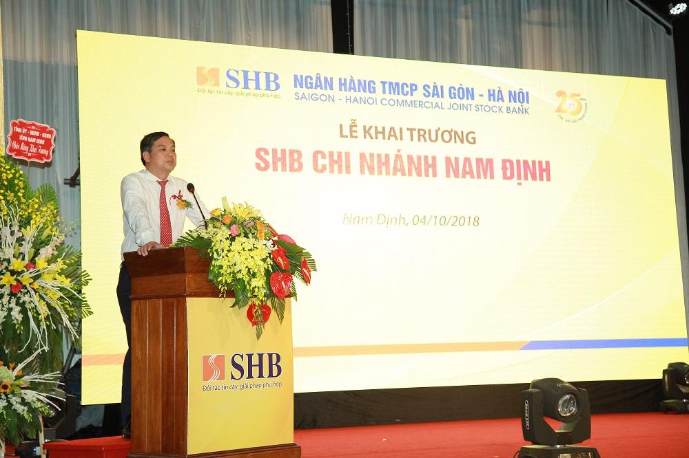 SHB khai trương chi nhánh Nam Định 2