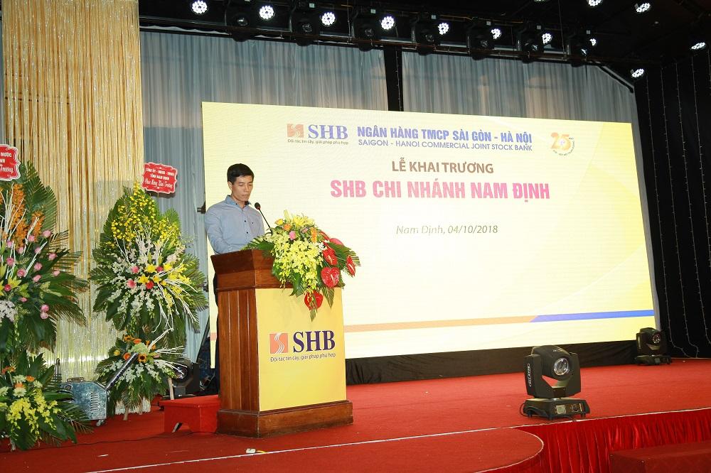 SHB khai trương chi nhánh Nam Định 1