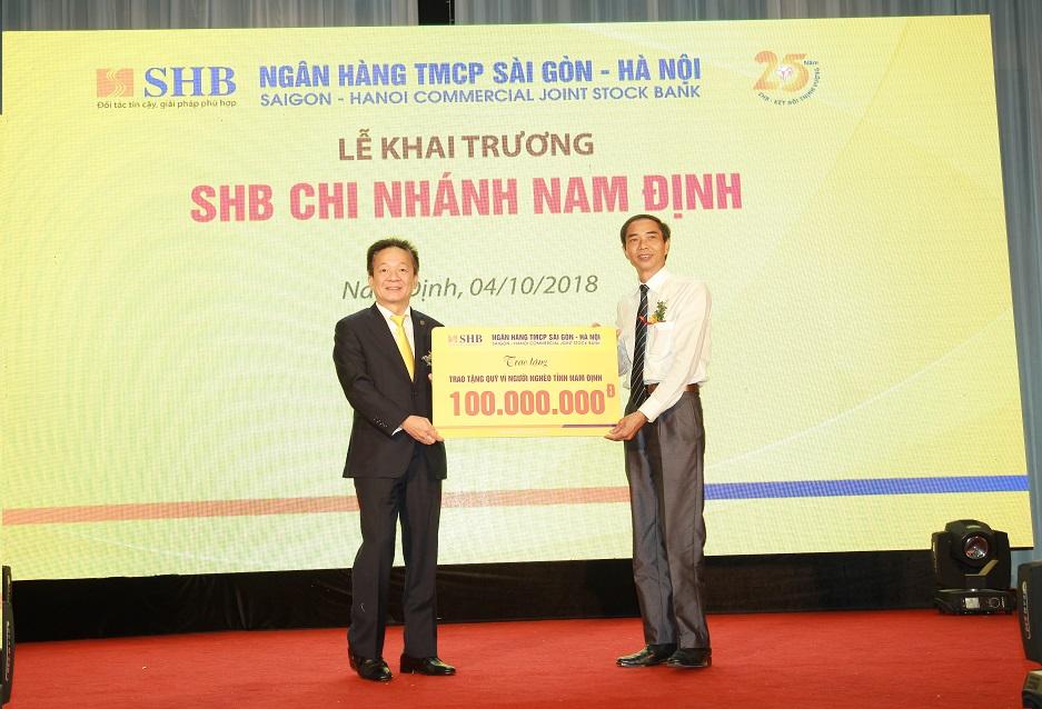SHB khai trương chi nhánh Nam Định 3