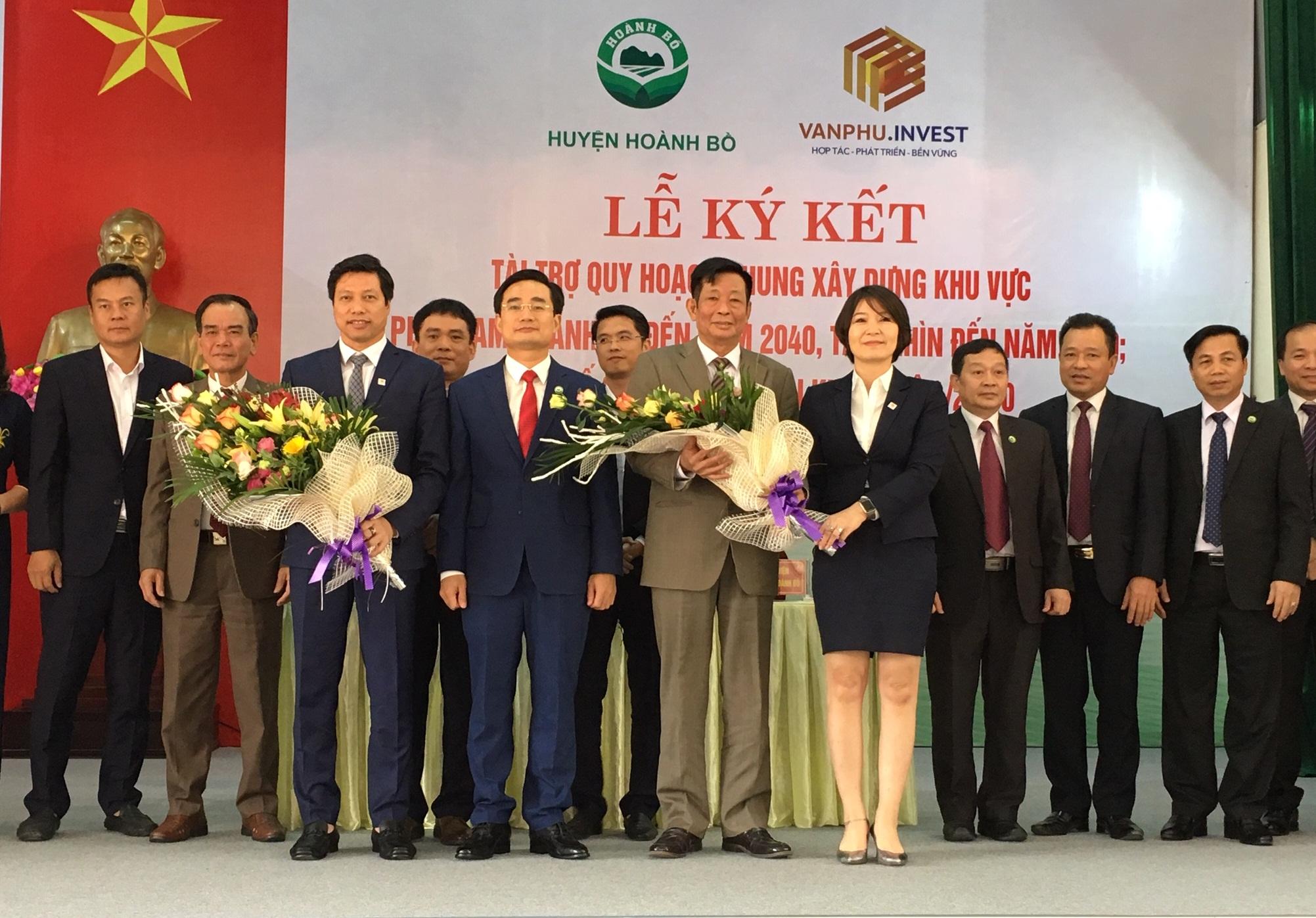 Công ty Văn Phú - Invest tài trợ quy hoạch chung xây dựng khu vực phía nam huyện Hoành Bồ, Quảng Ninh 1