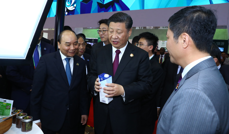 TH true MILK gây ấn tượng tại hội chợ nhập khẩu lớn của Trung Quốc 1