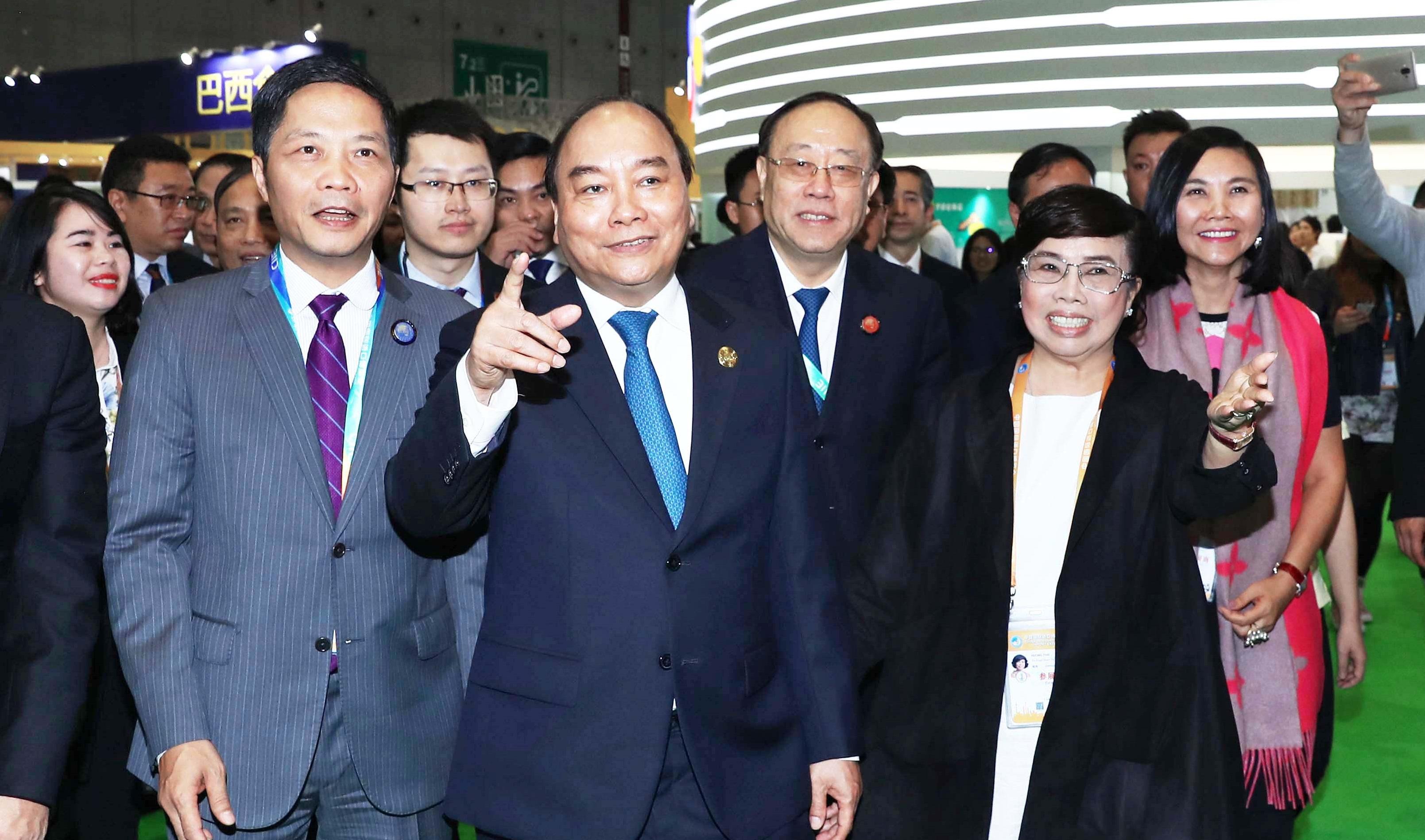 TH true MILK gây ấn tượng tại hội chợ nhập khẩu lớn của Trung Quốc
