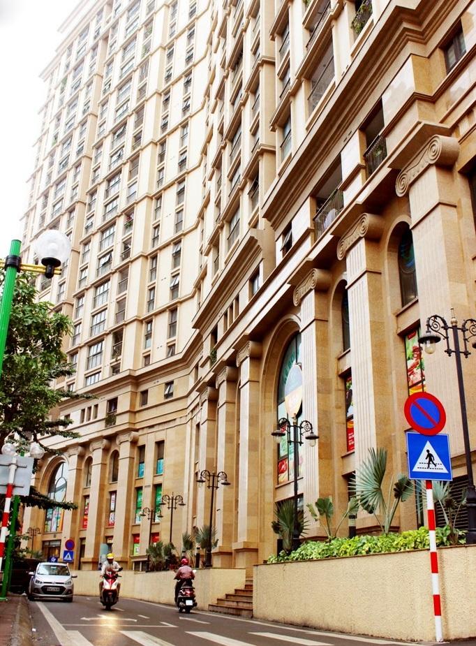 Cận cảnh chung cư có hành lang rộng và đẳng cấp hàng đầu Việt Nam