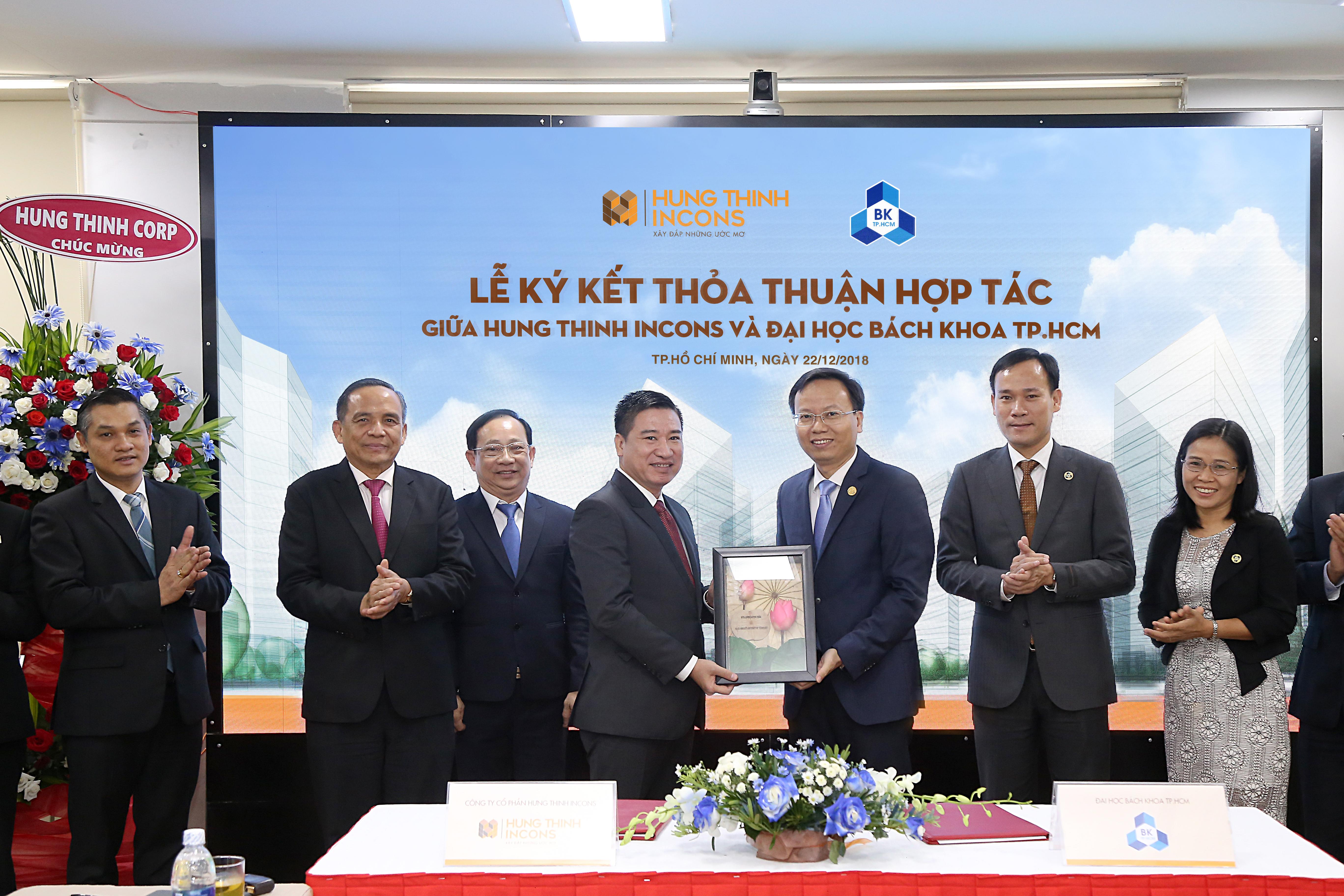 Hưng Thịnh Incons ký kết hợp tác cùng Trường Đại học Bách Khoa TP.HCM 1