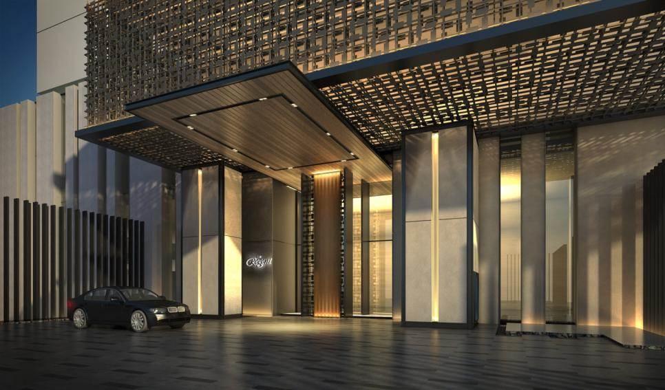 Sky Villas Regent, xúc cảm thăng hoa từ độc bản thiết kế