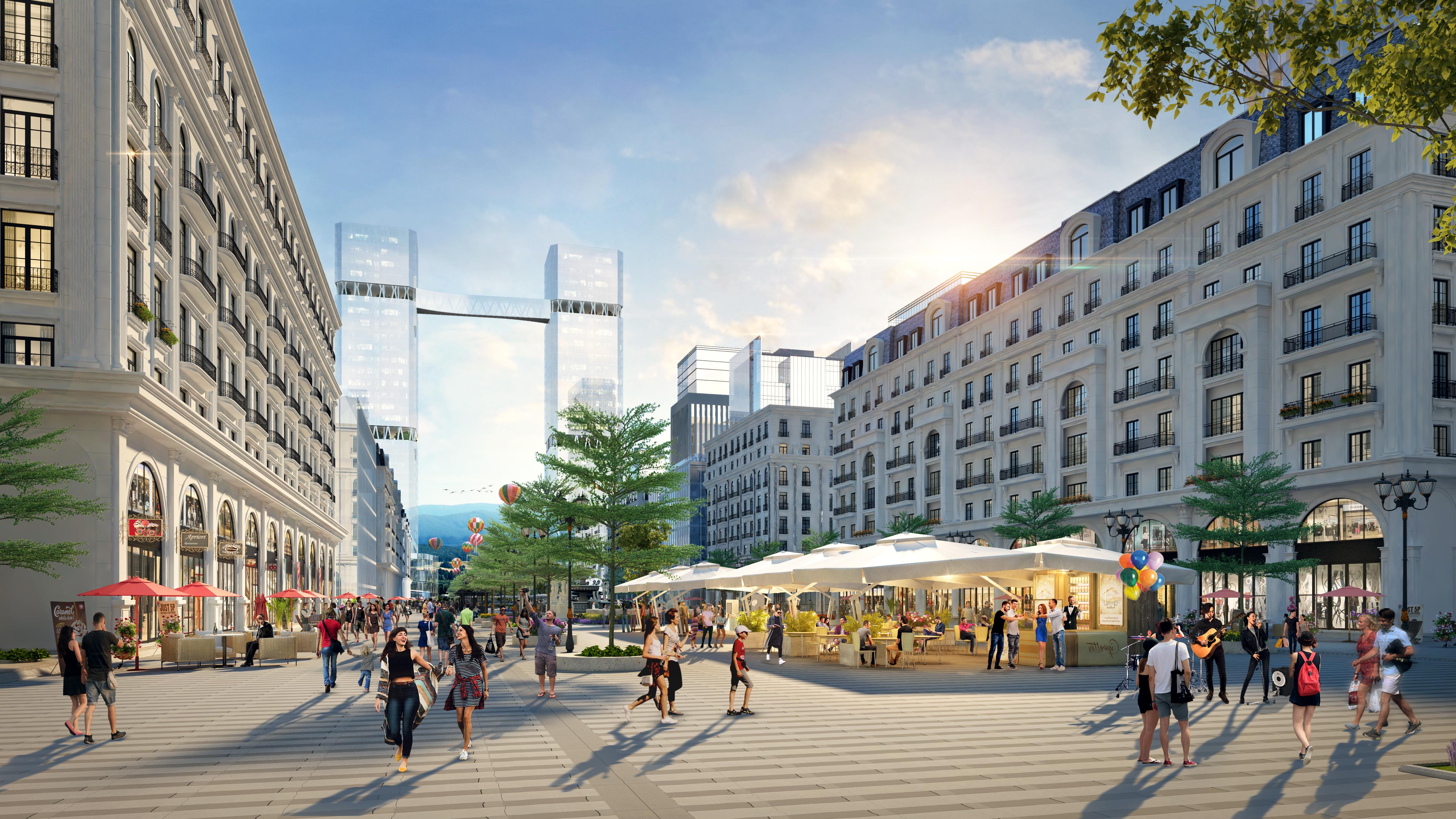 Dự án bất động sản có tuyến phố đi bộ 'hoành tránh' tại Hạ Long