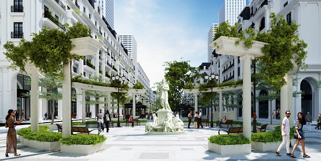 Dự án bất động sản có tuyến phố đi bộ 'hoành tránh' tại Hạ Long 1