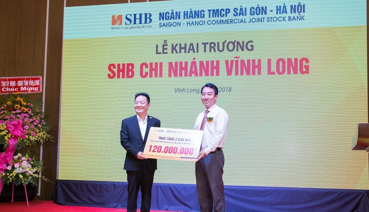 SHB khai trương chi nhánh mới tại Vĩnh Long 2