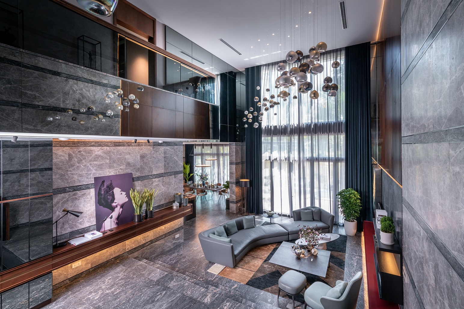 Khám phá nội thất xa xỉ của biệt thự triệu đô ở ngoại ô Hà Nội 2