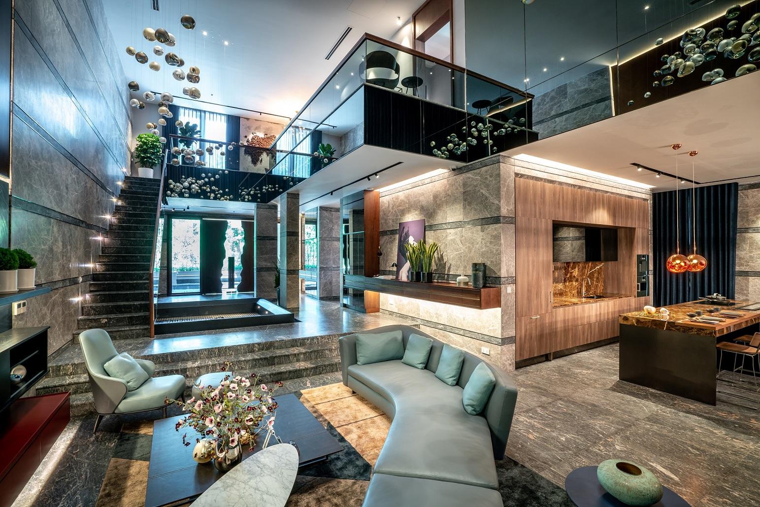 Khám phá nội thất xa xỉ của biệt thự triệu đô ở ngoại ô Hà Nội 8