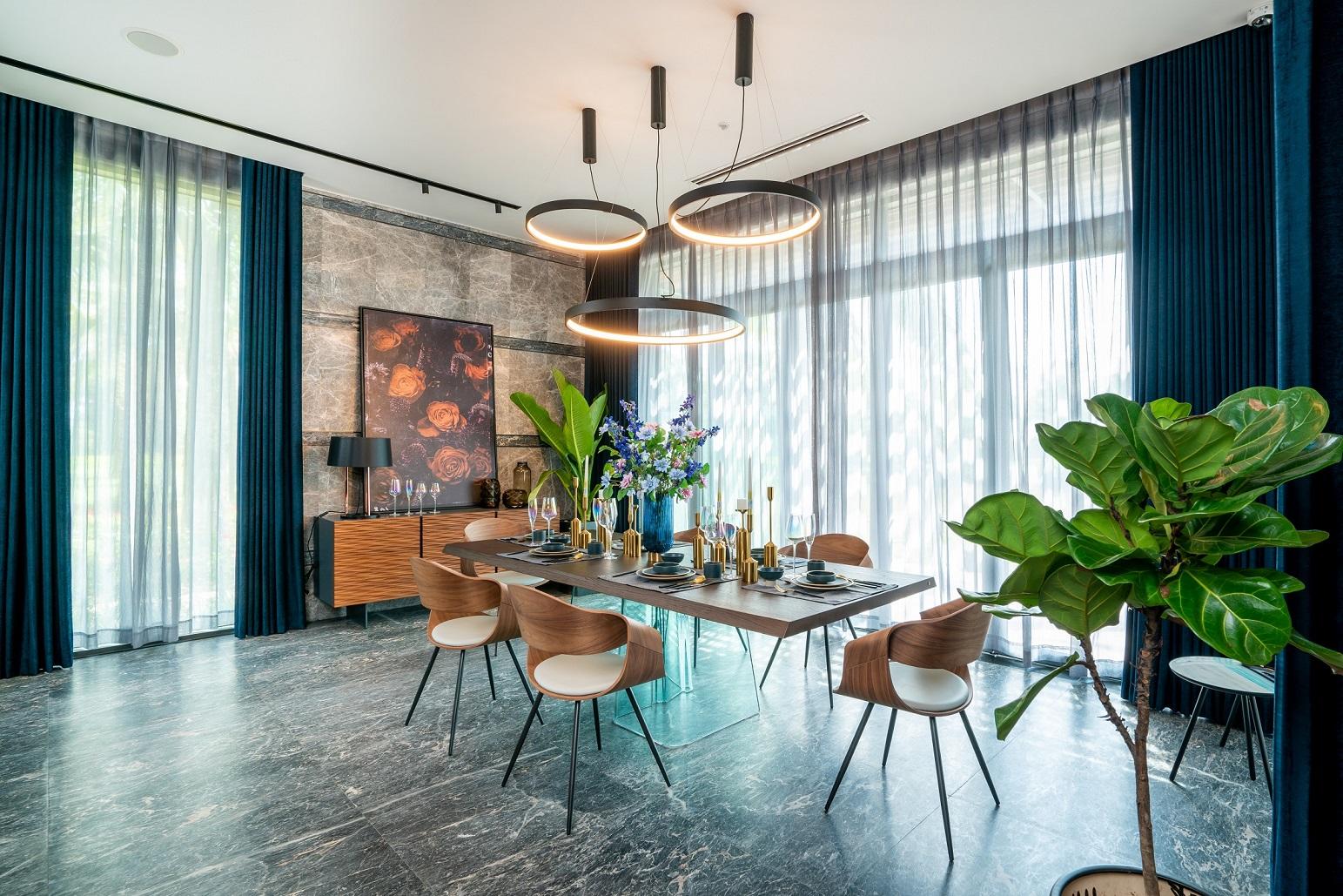Khám phá nội thất xa xỉ của biệt thự triệu đô ở ngoại ô Hà Nội 5