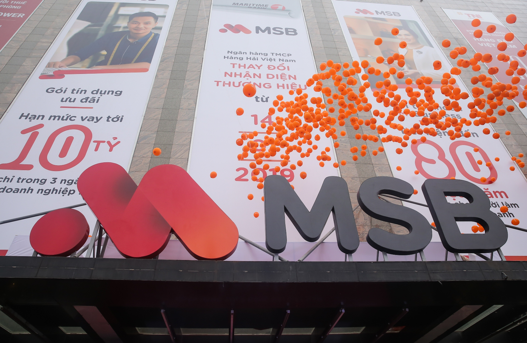 Ngân hàng Hàng Hải chính thức ra mắt thương hiệu mới MSB 1