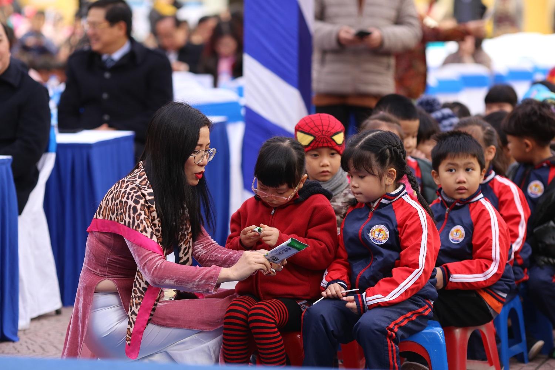 Chương trình sữa học đường Hà Nội được chính thức triển khai 2
