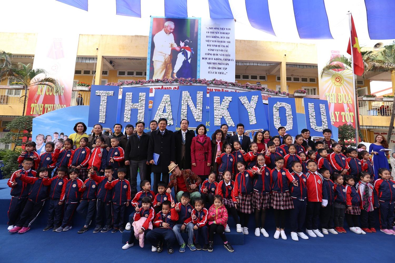 Chương trình sữa học đường Hà Nội được chính thức triển khai 3