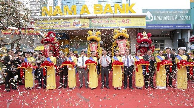 Nam A Bank Long Khánh khai trương tại Đồng Nai