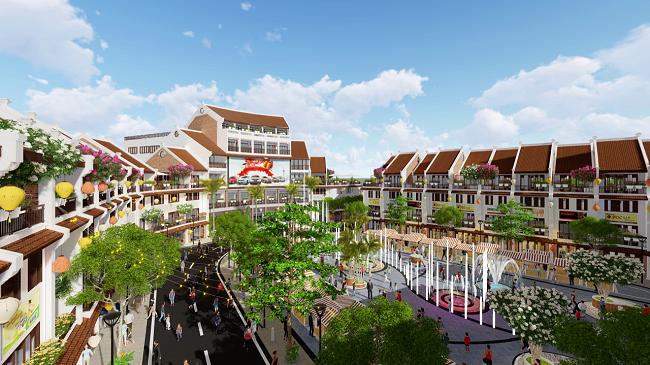 Phố Chợ Kinh Bắc - Mô hình shop thương mại độc đáo bậc nhất tỉnh Bắc Ninh 1