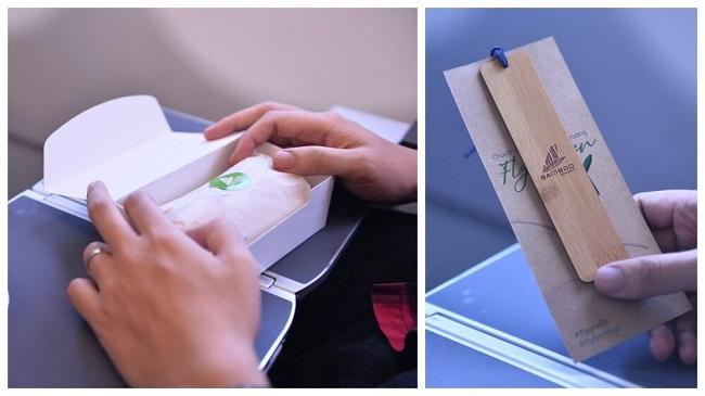 Máy bay mới của Bamboo Airways mang biểu tượng 'Fly Green'