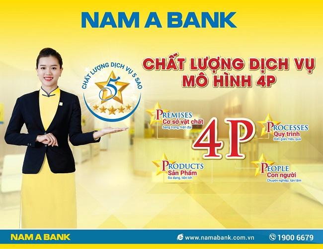 Nam A Bank cùng chiến lược nâng tầm chất lượng dịch vụ 5 sao