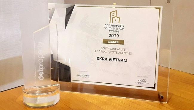 DKRA Vietnam nhận giải 'Nhà phân phối bất động sản tốt nhất Đông Nam Á' 2