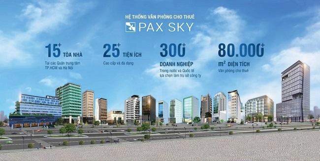 PAX SKY đoạt giải Nhà cung cấp dịch vụ văn phòng tốt nhất Đông Nam Á