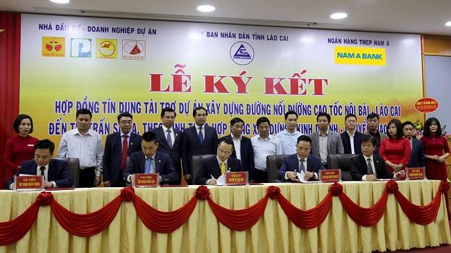 Nam A Bank cấp tín dụng dự án đường nối cao tốc Nội Bài - Lào Cai đến Sa Pa