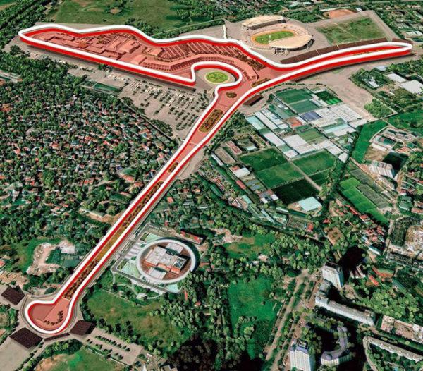 Hà Nội chính thức chốt phương án đường đua xe F1