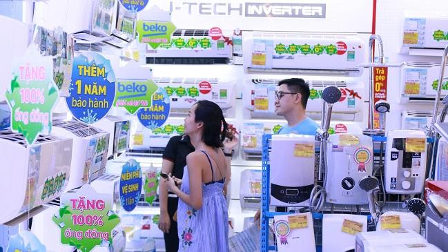 Đầu mùa nóng, Điện máy Xanh đã bán hết 200.000 bộ máy lạnh 1