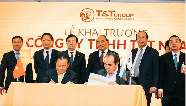 T&T Group lập công ty con tại Liên Bang Nga