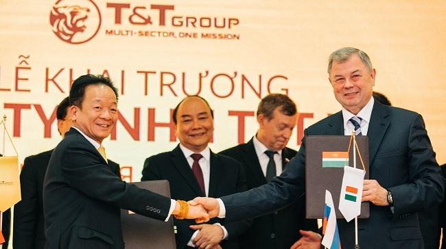 T&T Group lập công ty con tại Liên Bang Nga 1