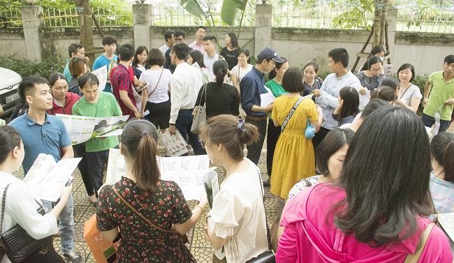 Bốc thăm căn hộ EcoHome 3: Ngày hội vui của nhiều người dân Thủ đô 1