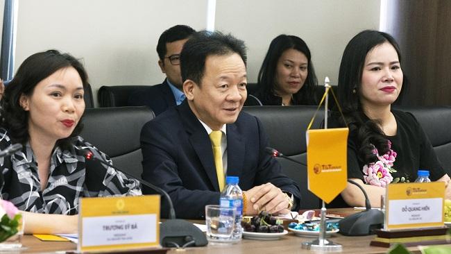 Bộ trưởng Bộ Ngoại giao Bờ Biển Ngà thăm Tập đoàn T&T Group