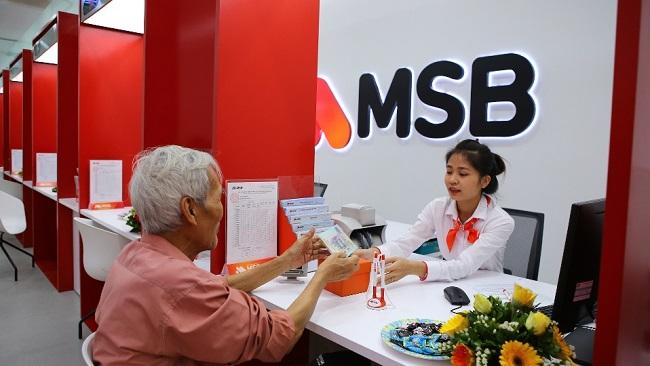 MSB đạt 567 tỷ đồng lợi nhuận trước thuế sau nửa năm