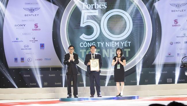 Hòa Bình (HBC) 4 lần liên tiếp đạt 'Top 50 Công ty niêm yết tốt nhất Việt Nam'