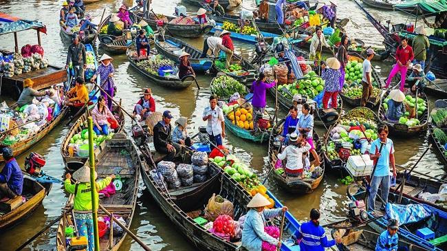 Văn hóa sông nước tạo nên sản phẩm du lịch độc đáo cho Tây Nam Bộ