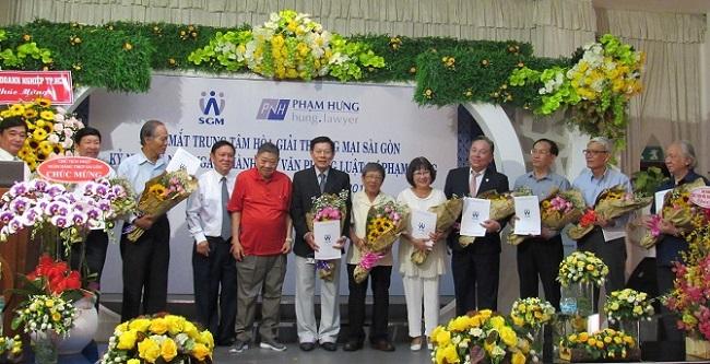 Ra mắt Trung tâm hòa giải thương mại Sài Gòn: Hòa giải tranh chấp thương mại với chi phí thấp 1