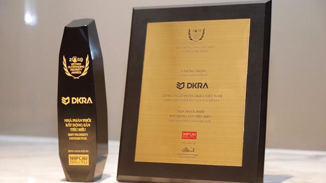 """DKRA Vietnam đạt giải """"Nhà phân phối bất động sản tiêu biểu"""" 3 năm liên tiếp"""