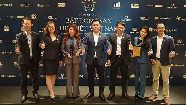 """DKRA Vietnam đạt giải """"Nhà phân phối bất động sản tiêu biểu"""" 3 năm liên tiếp 1"""