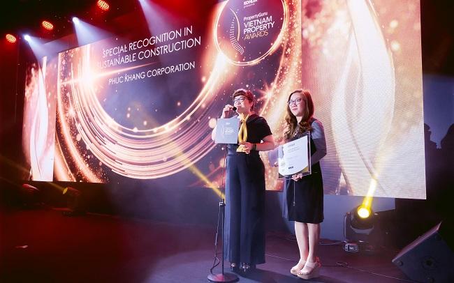 Phúc Khang đoạt giải tại bất động sản Việt Nam PropertyGuru Vietnam Property Awards 2020 2