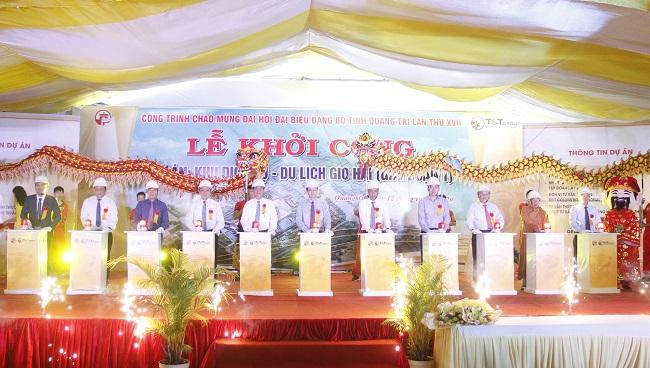 T&T Group khởi công Khu dịch vụ - du lịch gần 4.500 tỷ tại Quảng Trị